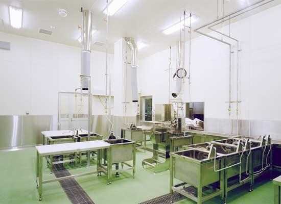 内臓処理室